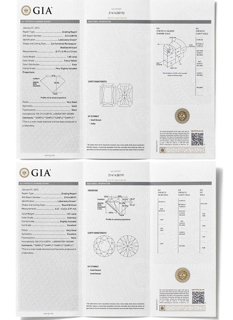 Diamond memorial diamonds from ashes hair lonit lonit lonit ag espaagia man made diamond certificate sample on lonit memorial diamonds xflitez Image collections