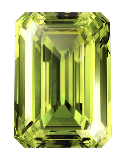 green colour cremation diamonds