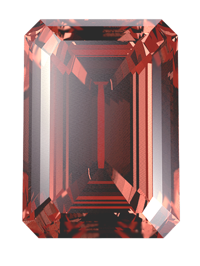 red colour cremation diamonds